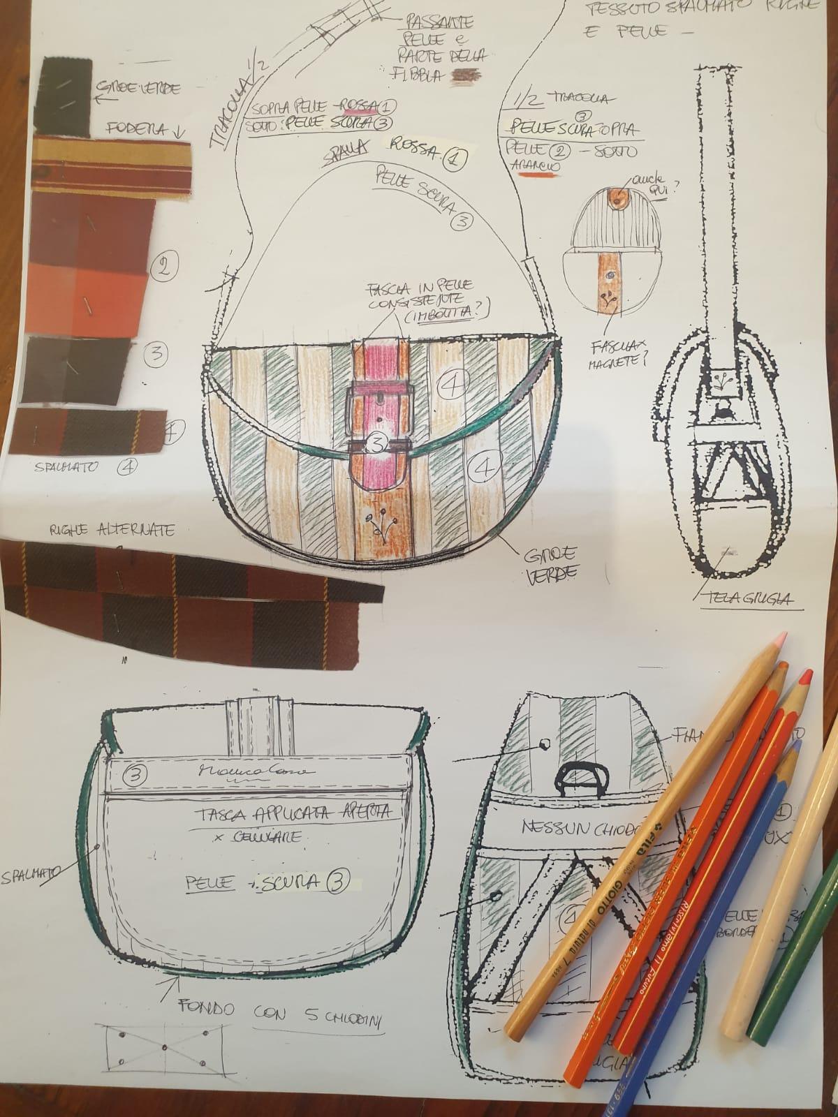 disegniamo la tua borsa